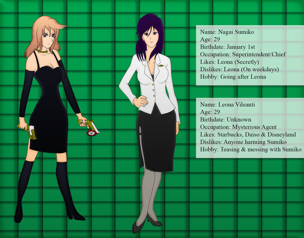Ask Nagai Sumiko and Leona Vileanti