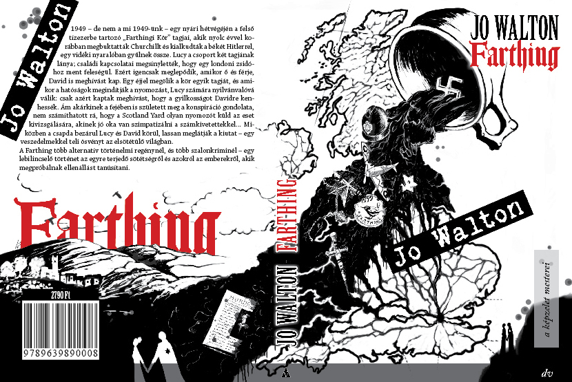 Book cover for Farthing by JudLorin