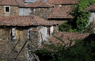 Houses near to Melide by JudLorin