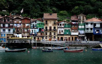 Houses of San Juan by JudLorin