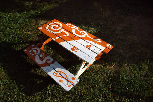 Beer Bench for Kids