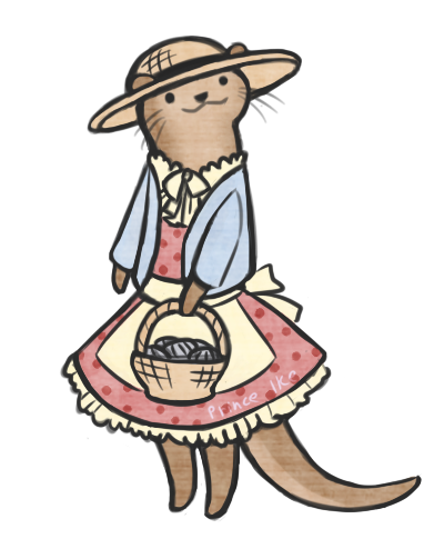 Otter Fashion 1 by butt-prince-ike