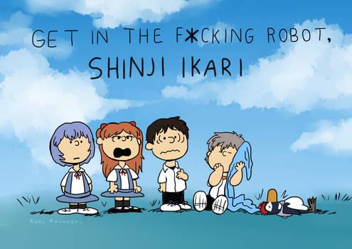 Get In The Fcking Robot, Shinji Ikari