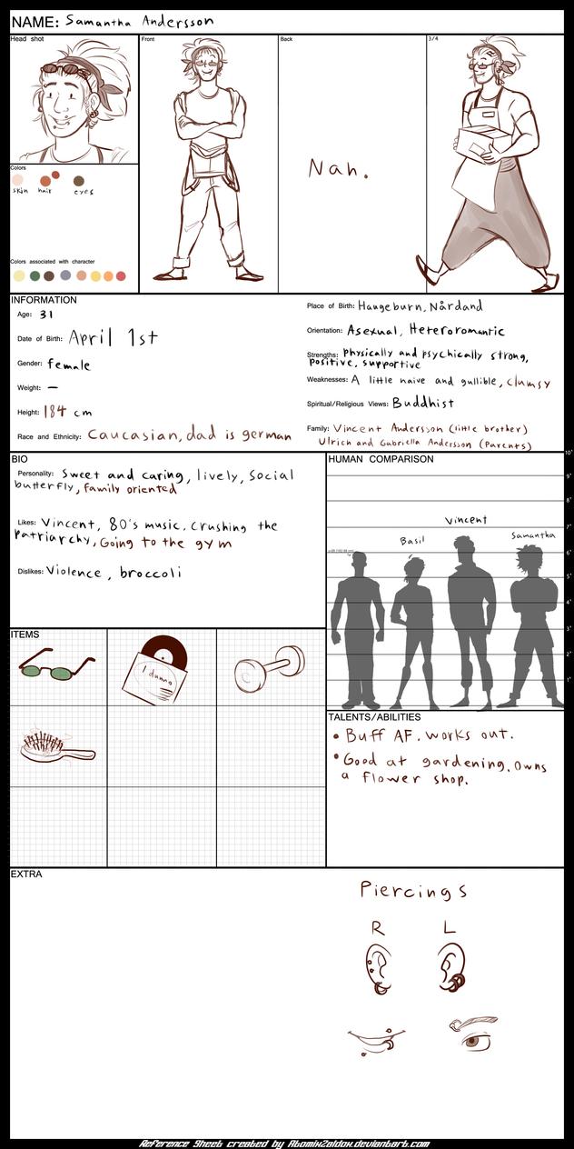 Samantha reference sheet v.2 by butt-prince-ike