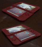 New Nintendo 3DS XL (Blender - Cycles)