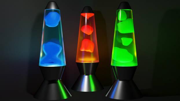 Lava lamp (blender)