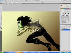 The Lynch coloring