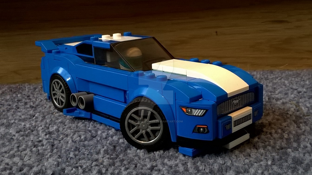 lego modified ford mustang gt front view by elphin zephyr on deviantart. Black Bedroom Furniture Sets. Home Design Ideas