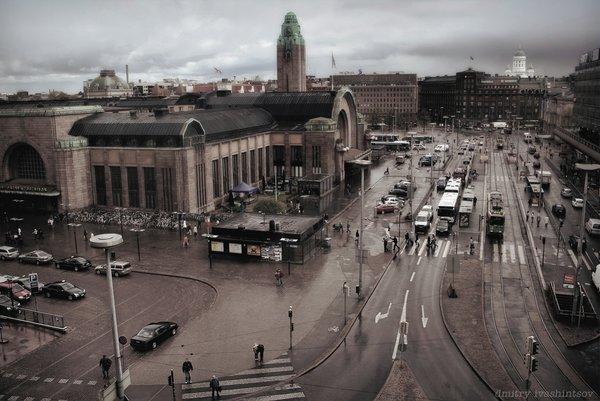 Helsinki. Railway Station.