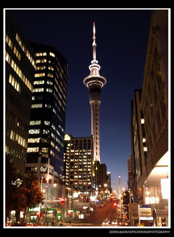 Auckland SkyTower - 1.