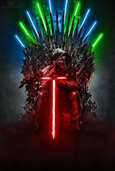 Kylo Ren - Iron Throne