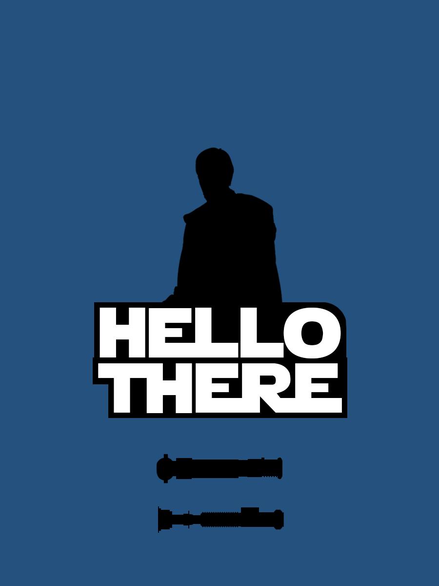Obi Wan Kenobi Hello There By Gabriel Carati On Deviantart