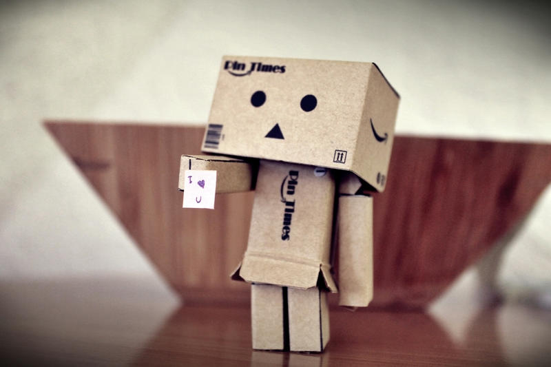 Danbo - I love u by KeyEX99