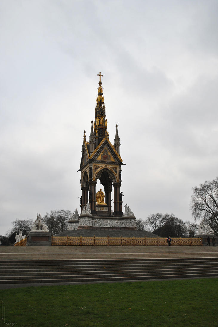 Albert Memorial by LuceamLuceo