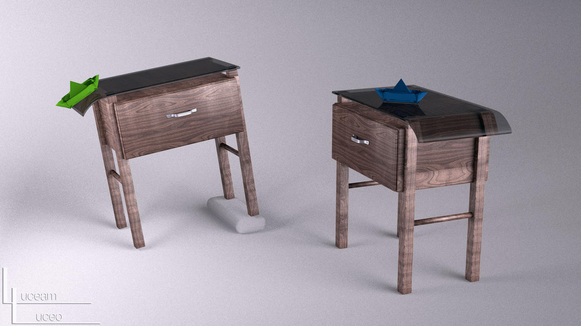 Nightstands by LuceamLuceo