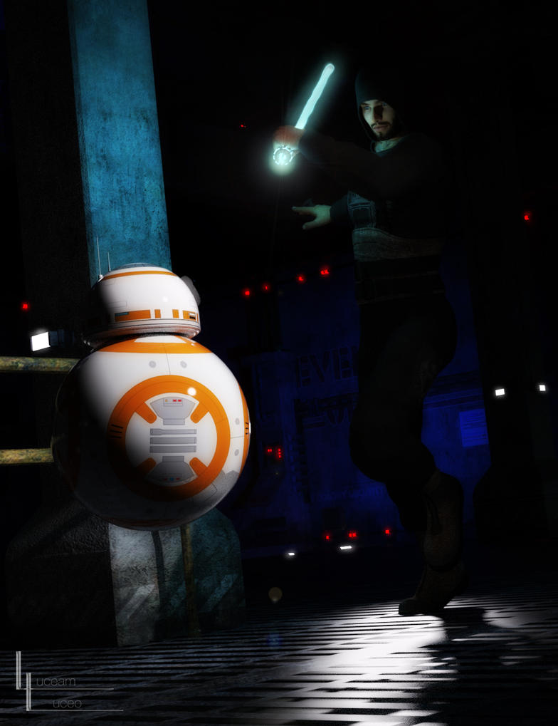 Droid 'n danger by LuceamLuceo