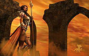 Arcane Warrior by Sarquindi