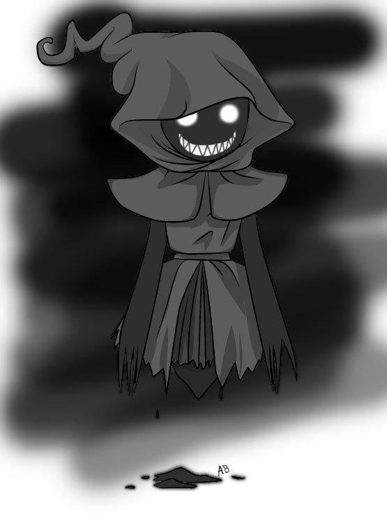 Ghost Chibi by Andiiiematronic on DeviantArt