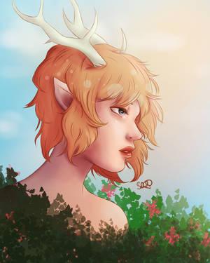 Random nature girl? by justdrawartallday
