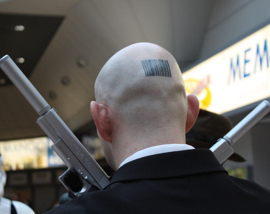 The Hitman Barcode (yes it's real) by agent4747 on DeviantArt