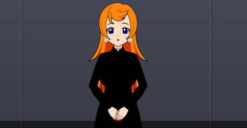 Woman in Black Dress by CloneClox9999