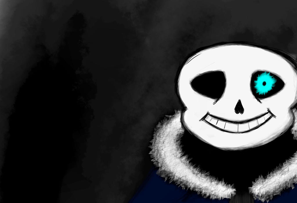 Sans undertale fanart (again :3) by ImACatz
