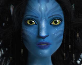 Keira Knightley - Navi Photomanipulation by Juddy-Wood