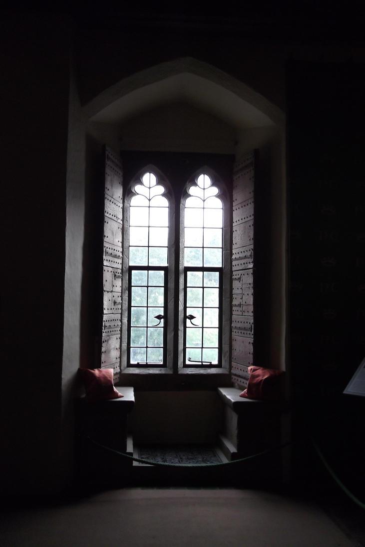 Leeds castle window ii by kami granz on deviantart for 2 window