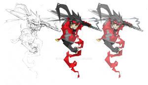 Triple Threat Sketch