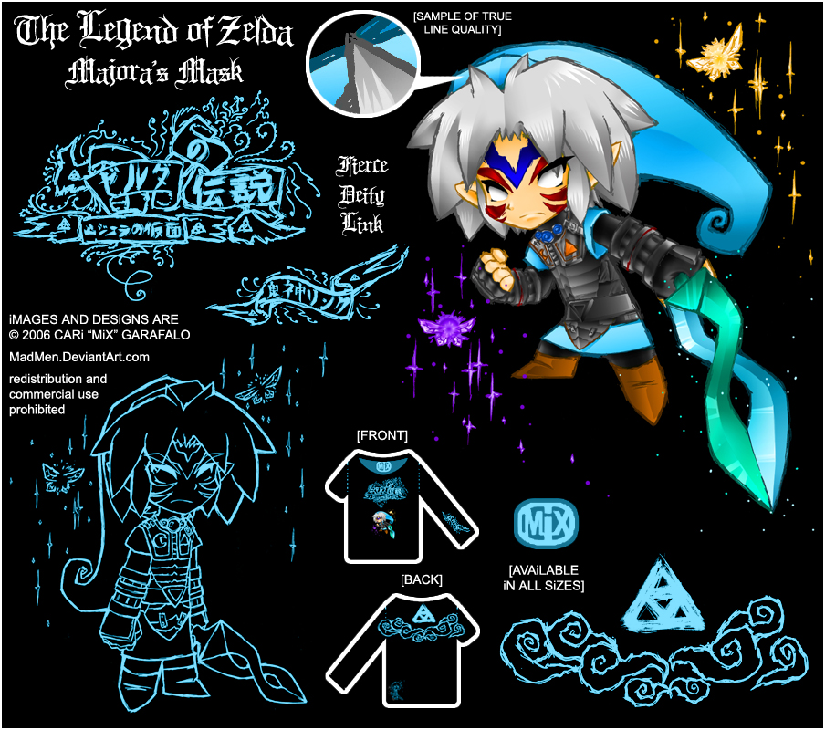 .:Zelda- Majora shirt design:. by madmen