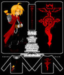 .:FMA- chibi Ed shirt design:.