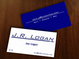 JR Logan Business Card by AliceGraphix