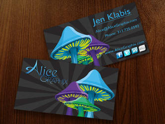 Alice Graphix Business Cards