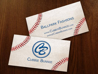 Cubbie Bunnie Business Cards by AliceGraphix