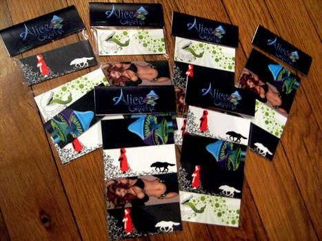 Alice Art Magnets