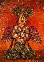 Naga Kanya Hindu Snake Goddess by enchantedgal
