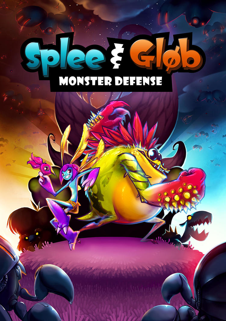 Splee and Glob: Monster Defense - KICKSTARTER by JollyPiik