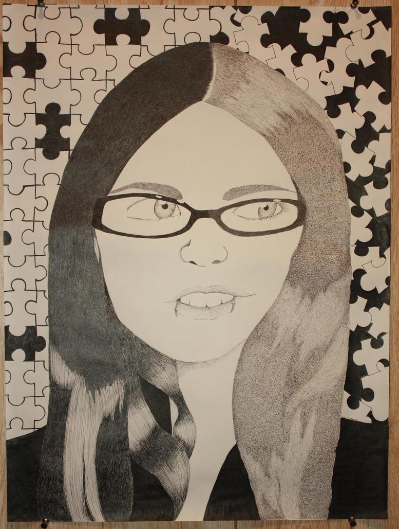 Self Portrait I by kacyface