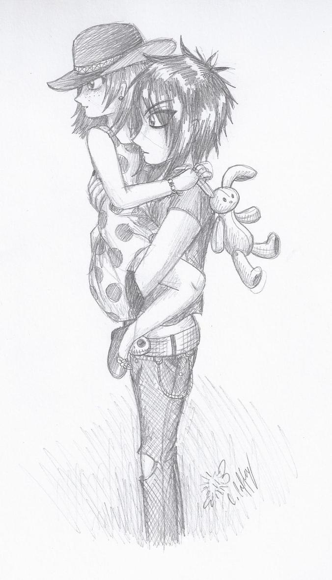 Cuddle by erondagirl