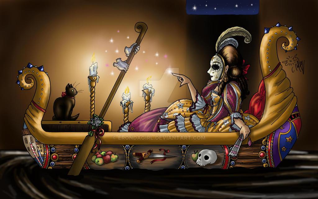 Venetian Witch by erondagirl