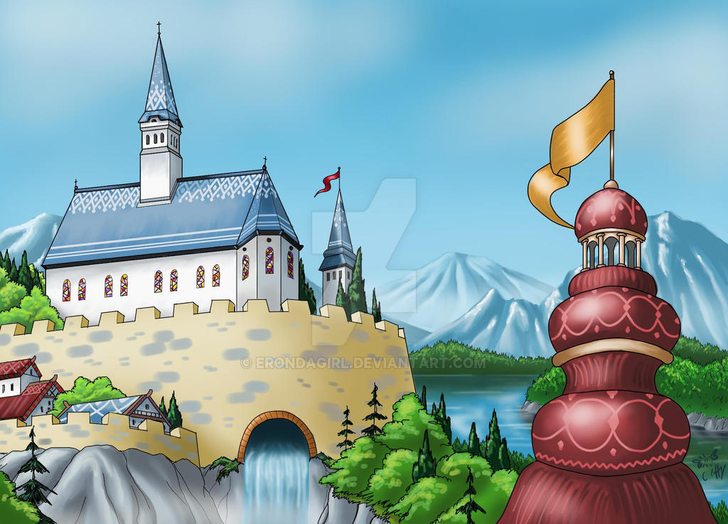 Towers - daytime by erondagirl