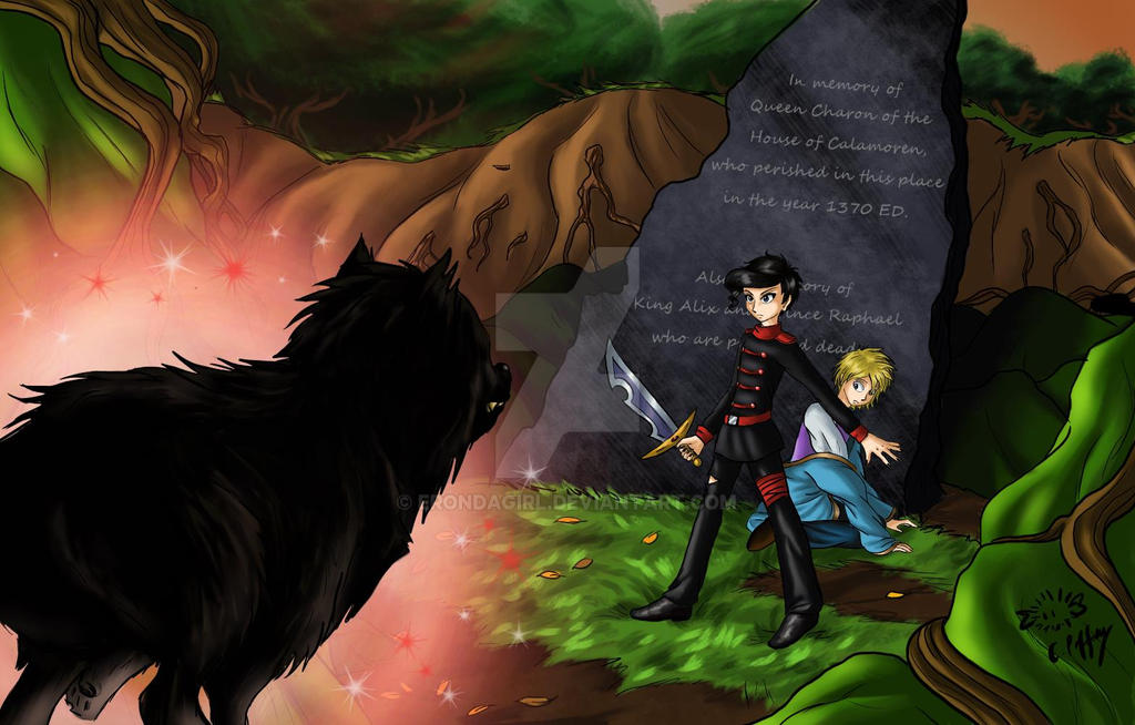 Wolf Attack! by erondagirl