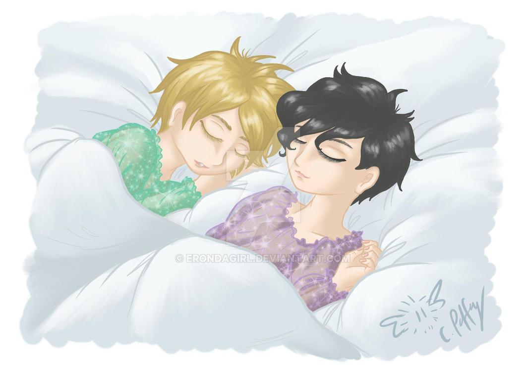 Sleeping by erondagirl