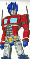 Optimus Prime by DarkPanik
