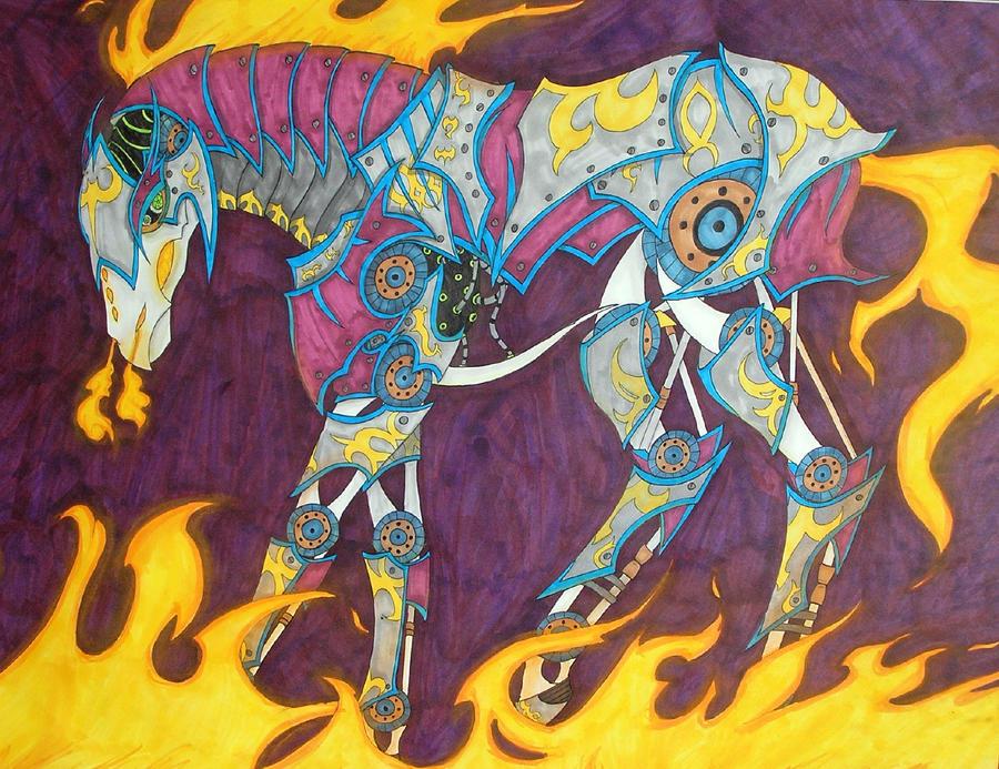 Mecha Horse by DarkPanik