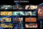 april tagwall