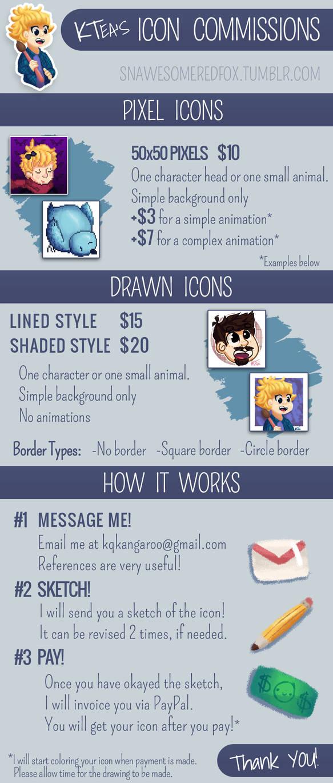 Commission Details!
