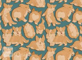 Corgi Pupper Pattern