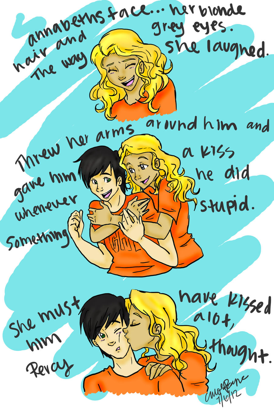 Percy Jackson And Annabeth Chase Fanfiction Rated M | Sante Blog