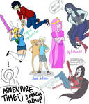 Adventure Time Sketch Dump
